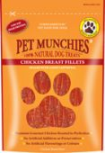 Pet Munchies Chicken Breast Fillet Natural Dog Treat - (8 Packs of 100g)